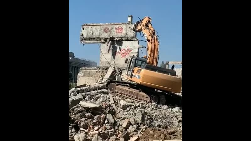 Демонтаж многоэтажки на Советской, г. Оренбург