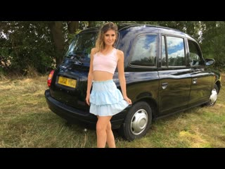 Candice Demellza - One Last Fuck Before Good Bye (Blowjob, Brunette, Car, Fake Taxi, Natural Tits, Hardcore)