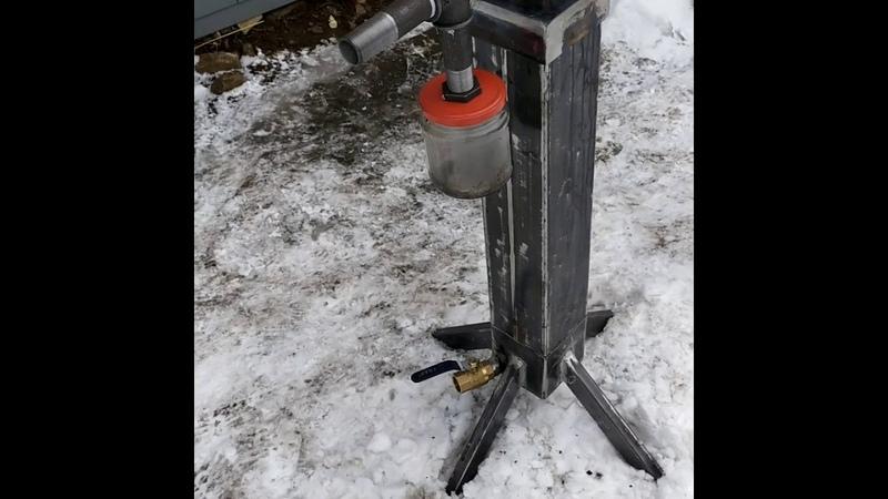 Коптилка для холодного копчения