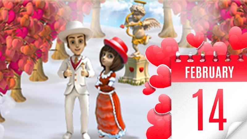 Клондайк День Всех Влюбленных Разбираем туковые постройки Королевские акации на подарки
