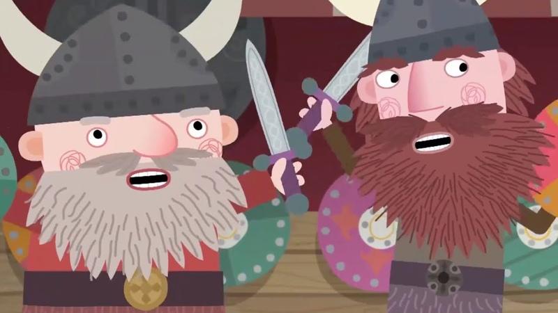 Маленькое королевство Бена и Холли Дейзи и Поппи идут в музей Сезон 2 Серия 48