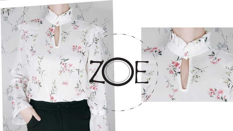 DIY Blouse Tutorial | FREE Sewing Patterns | Zoe DIY