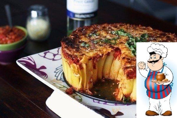 Паста-пирог
