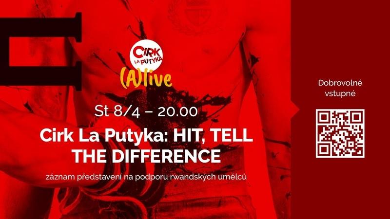 Cirk La Putyka HIT TELL THE DIFFERENCE záznam představení