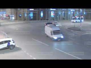 Авария на площади Ленина