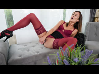 Christy Love - Head Start (MILF, Solo, Masturbation, Stockings, Toys)