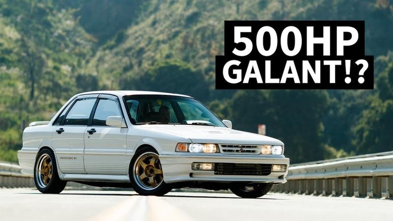 BIG Turbo 500hp Galant VR-4, AKA the Mitsubishi Evos Grandfather