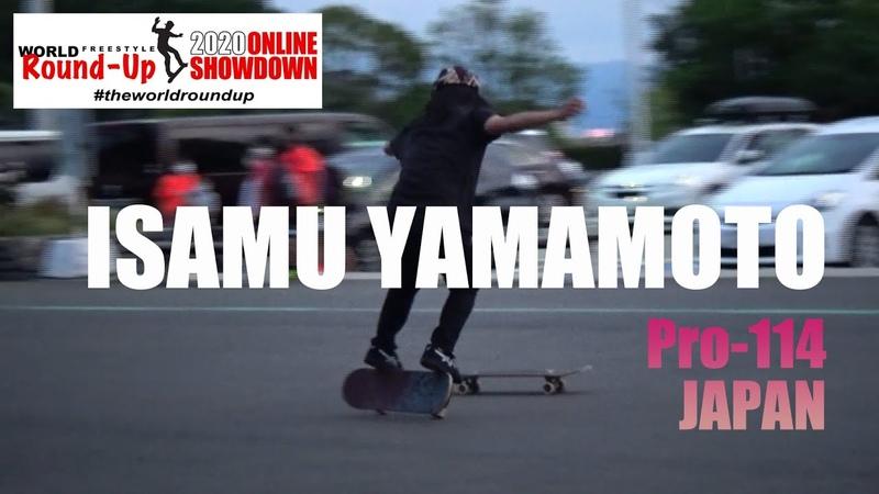 World Freestyle Round-Up 2020 Online Showdown Isamu Yamamoto PR-114Japan